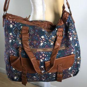 Mossimo Large Fabric Shoulder Bag